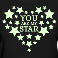 Design ~ You are my star - Glow in the dark