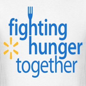Fighting hunger tee. - Men's T-Shirt