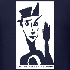 Cactus Killer Records - Men's T-Shirt