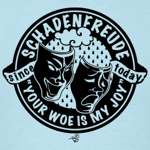 Original Schadenfreude logo - Men's T-Shirt