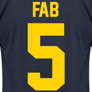 Fab 5 T-Shirts - Men's T-Shirt by American Apparel