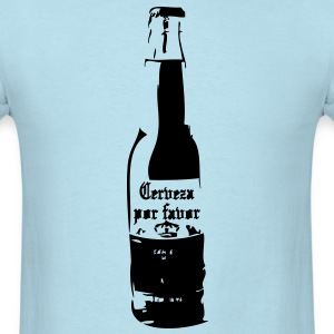 Cerveza por favor T-Shirts - Men's T-Shirt