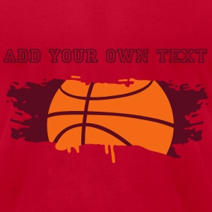 graffiti Basketball T-Shirts - Men's T-Shirt by American Apparel