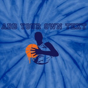 basketball player with a basketball T-Shirts - Unisex Tie Dye T-Shirt