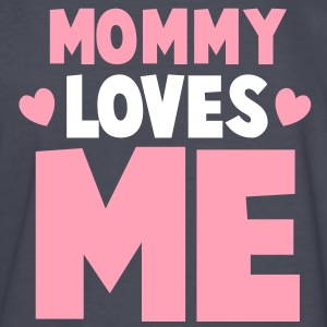 MOMMY loves ME! with little hearts Kids' Shirts - Kids' Long Sleeve T-Shirt