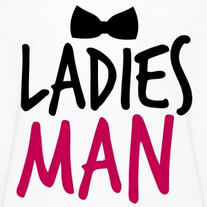 LADIES MAN with a black bow tie event Kids' Shirts - Kids' Long Sleeve T-Shirt