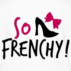 So Frenchy! with a shoe and a bow Kids' Shirts