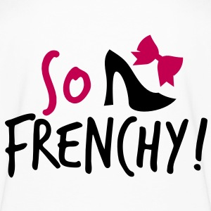 So Frenchy! with a shoe and a bow Kids' Shirts - Kids' Long Sleeve T-Shirt