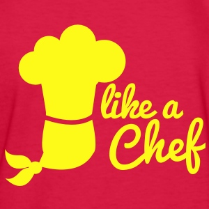 LIKE A CHEF cook kitchen career 1 color Kids' Shirts - Kids' Long Sleeve T-Shirt