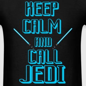 keep calm and call jedi - Men's T-Shirt