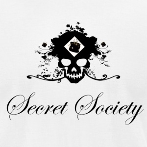 Secret Society tee. - Men's T-Shirt by American Apparel
