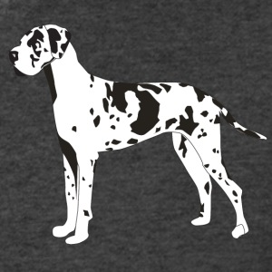 Great Dane - Men's V-Neck T-Shirt by Canvas