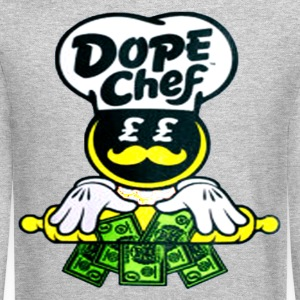 DOPE CHEF Long Sleeve Shirts - Crewneck Sweatshirt