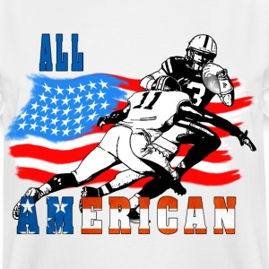 All American Football player 6 T-Shirts - Men's Tall T-Shirt