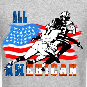 All American Football player 6 Long Sleeve Shirts - Crewneck Sweatshirt