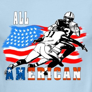 All American Football player 6 white T T-Shirts - Men's Ringer T-Shirt