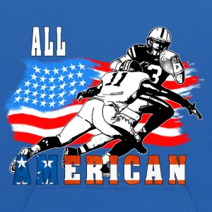 All American Football player 6 white T Sweatshirts - Kids' Hoodie