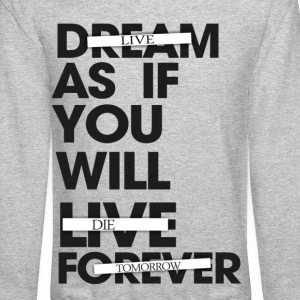Live As If You Will Die Tomorrow Crewneck - Crewneck Sweatshirt