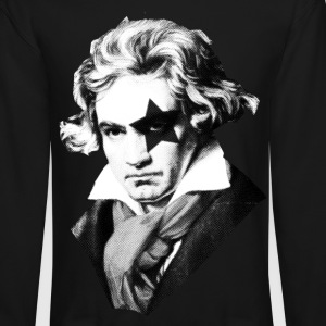 Beethoven rock Kiss Black Metal Long Sleeve Shirts - Crewneck Sweatshirt