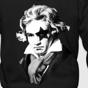 Beethoven rock Kiss Black Metal Zip Hoodies/Jackets - Men's Zip Hoodie