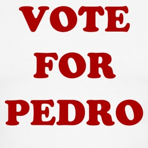 VOTE FOR PEDRO - Men's Ringer T-Shirt