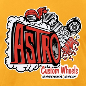 Astro Wheels - Men's T-Shirt by American Apparel