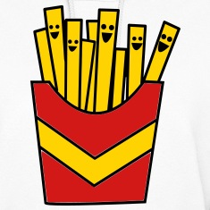French Fries / Chips Hoodies