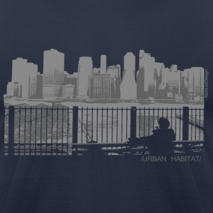 Urban Habitat - Men's T-Shirt by American Apparel