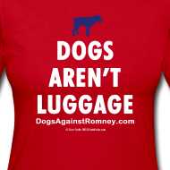 Design ~ Official Dogs Against Mitt Romney Dog Story Longlseeve Tee