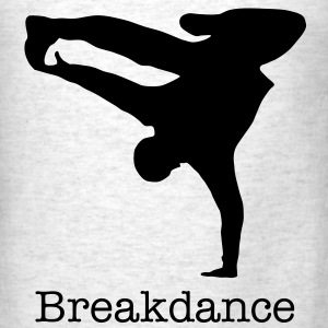 Breakdancer, b-boy T-Shirts - Men's T-Shirt