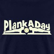 Design ~ PlankADay/'I'm a Planker' Men's Tee