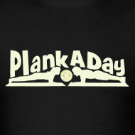 Design ~ PlankADay/'Will Plank for Six Pack' Men's Tee