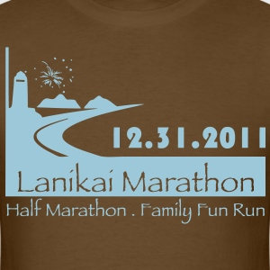 Men's Lanikai Marathon 2011 - Men's T-Shirt
