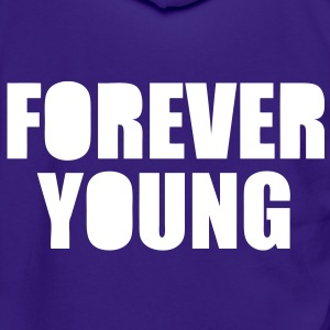 Forever Young Zip Hoodies/Jackets - stayflyclothing.com  - Unisex Fleece Zip Hoodie by American Apparel