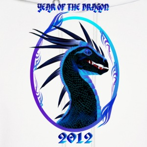 2012-Horned Black Dragon-Year Of The Dragon - Men's Hoodie