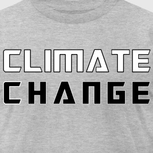 Climate Change T-Shirts - Men's T-Shirt by American Apparel