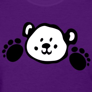 Cute bear  animal Women's Standard Weight T-Shirt - Women's T-Shirt