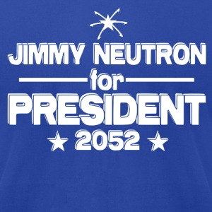 Jimmy Neutron for President - Men's T-Shirt by American Apparel