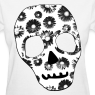 Design ~ Womens Style Skull Street Style Fashion T-Shirt