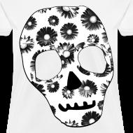 Design ~ Womens Style Skull Street Style Fashion T-Shirt