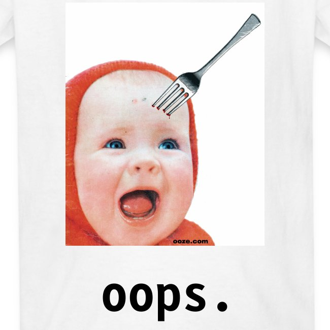 Baby with Fork in Head FOR KIDS!