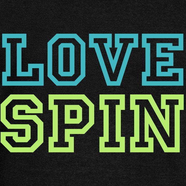 LOVE SPIN Sporty off the shoulder warm up S/S