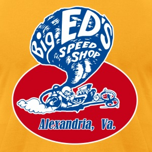 Big Ed's Speed Shop - Men's T-Shirt by American Apparel