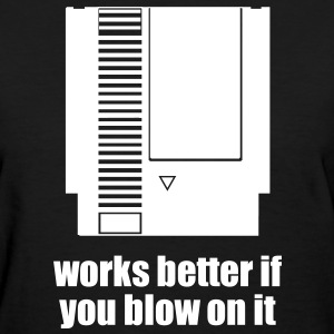 works better if you blow on it Women's T-Shirts - Women's T-Shirt
