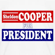 Design ~ Sheldon Cooper for President
