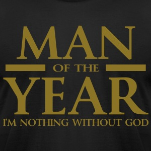 Man of the year - Men's T-Shirt by American Apparel