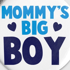 MOMMY's BIG boy blue Buttons - Large Buttons