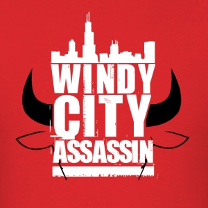 Windy City Assassin - Men's T-Shirt