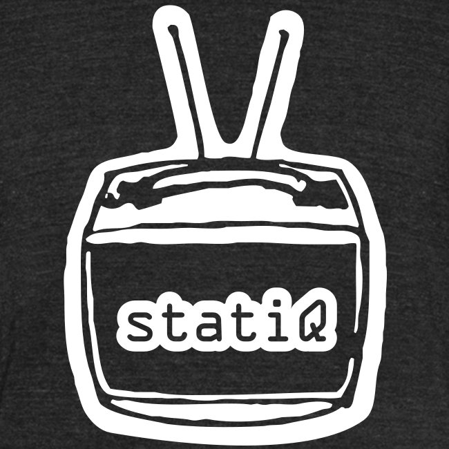 statiQ TV head vintage t-shirt