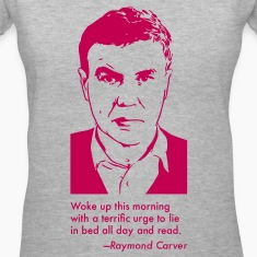 Raymond Carver Portrait & Quotation (Women's T-Shirt)
